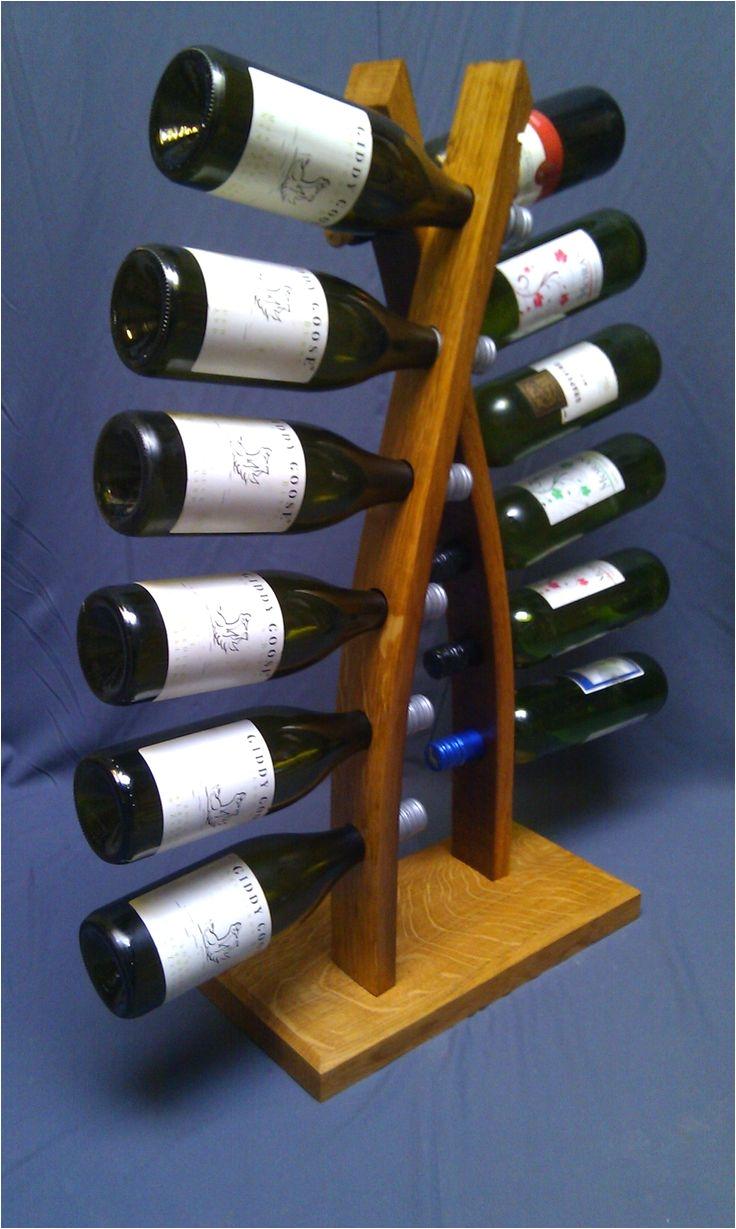wine barrel project wine rack