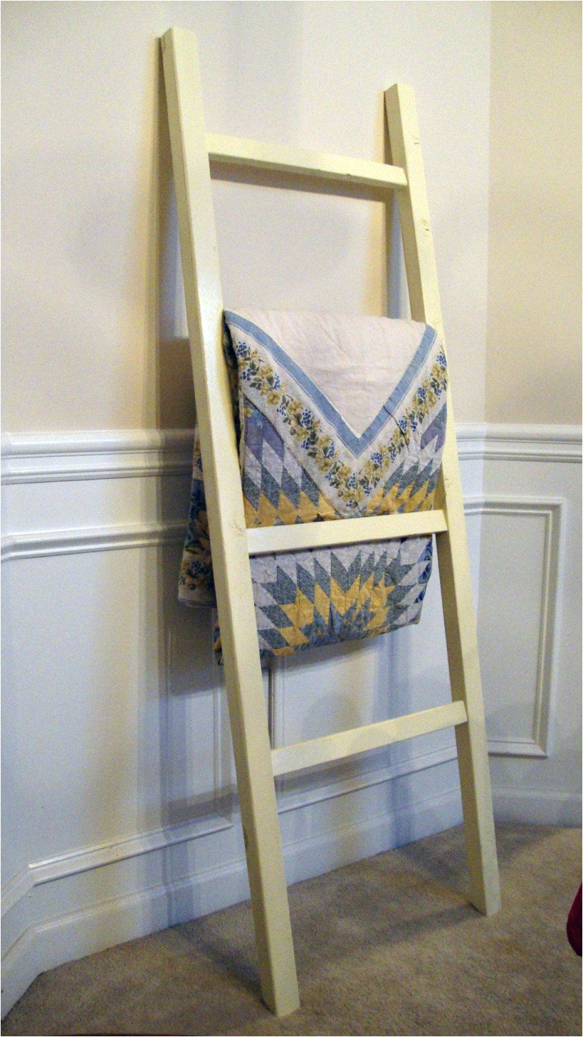 ladder quilt rack by genesiswoodworks on etsy 55 00