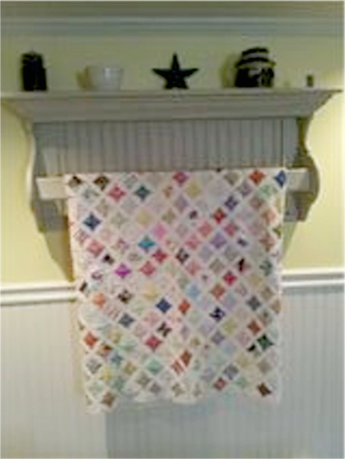 quilt rack but better in kitchen for towels and show off items