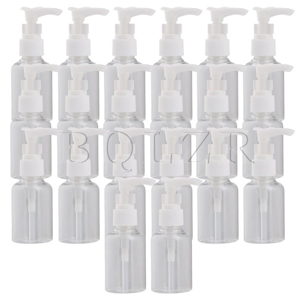 Wire Spray Bottle Rack 20x Bqlzr White 75ml Perfume Shampoo Lotion Liquid Cosmetic Clear