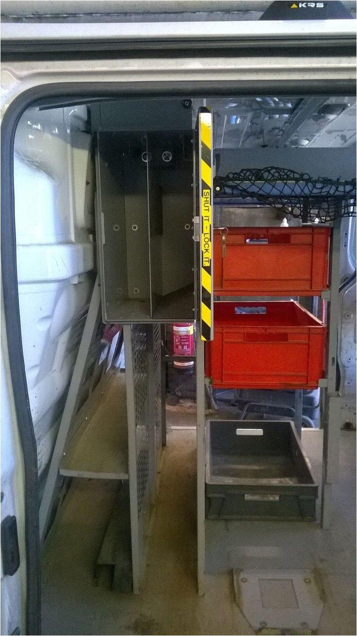 van racking storage units from bt openreach van h module bott tevo quality