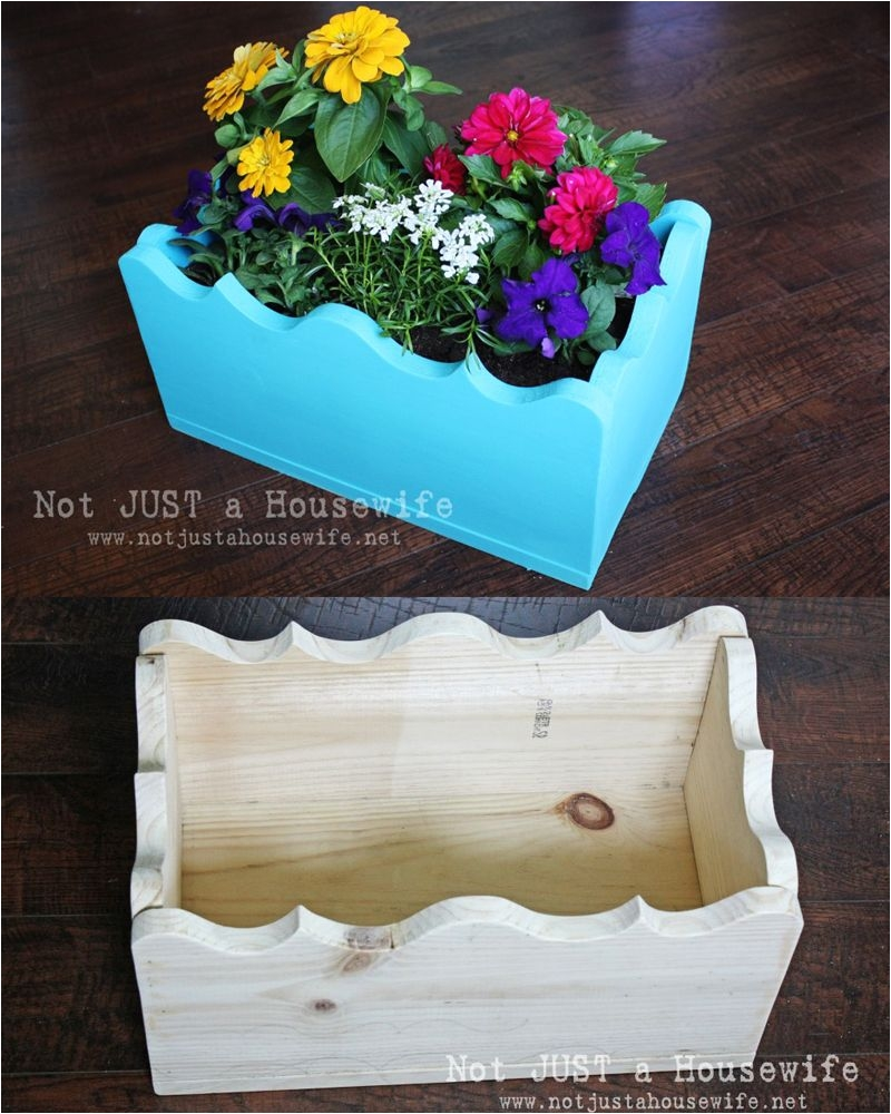 build your own planter box not just a housewife