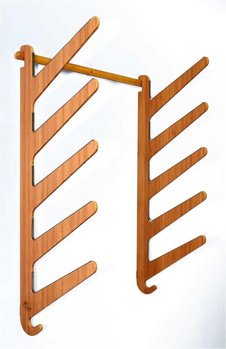 the kaua i series bamboo surfboard rack