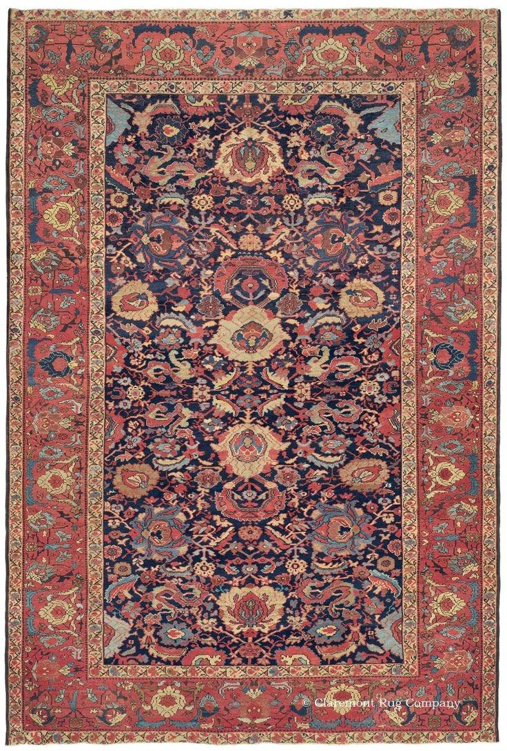 persian bakshaish rug late 19th century