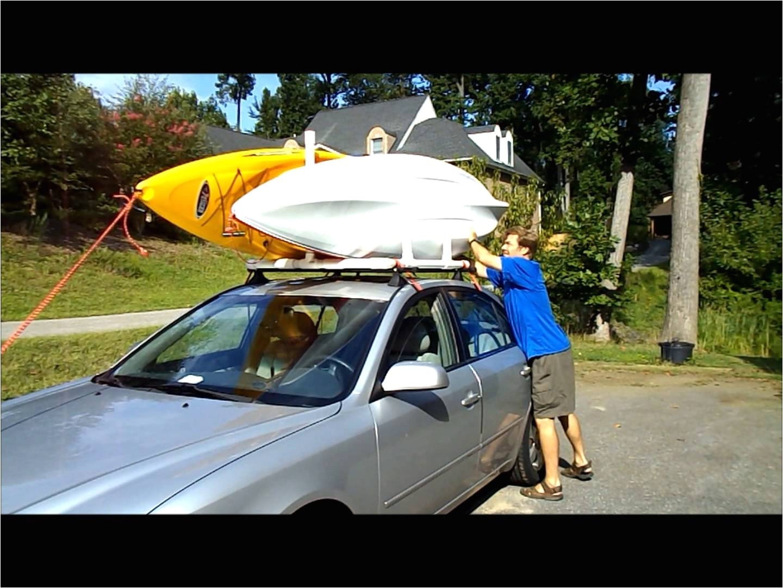 Yakima Double Kayak Roof Rack Pvc Dual Kayak Roof Rack for 50 Youtube