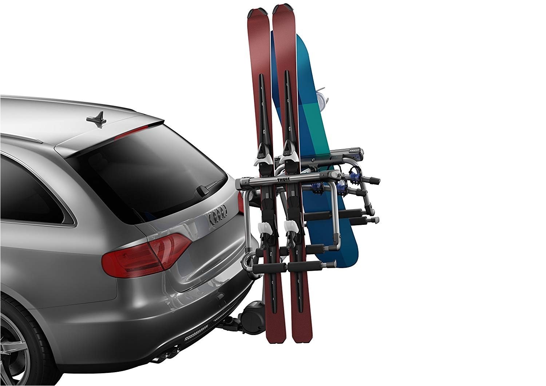 Yakima Hitchski 6-ski Adapter for Most Yakima Hitch Mount Bike Racks Amazon Com Thule 9033 Tram Hitch Ski Carrier with Locks