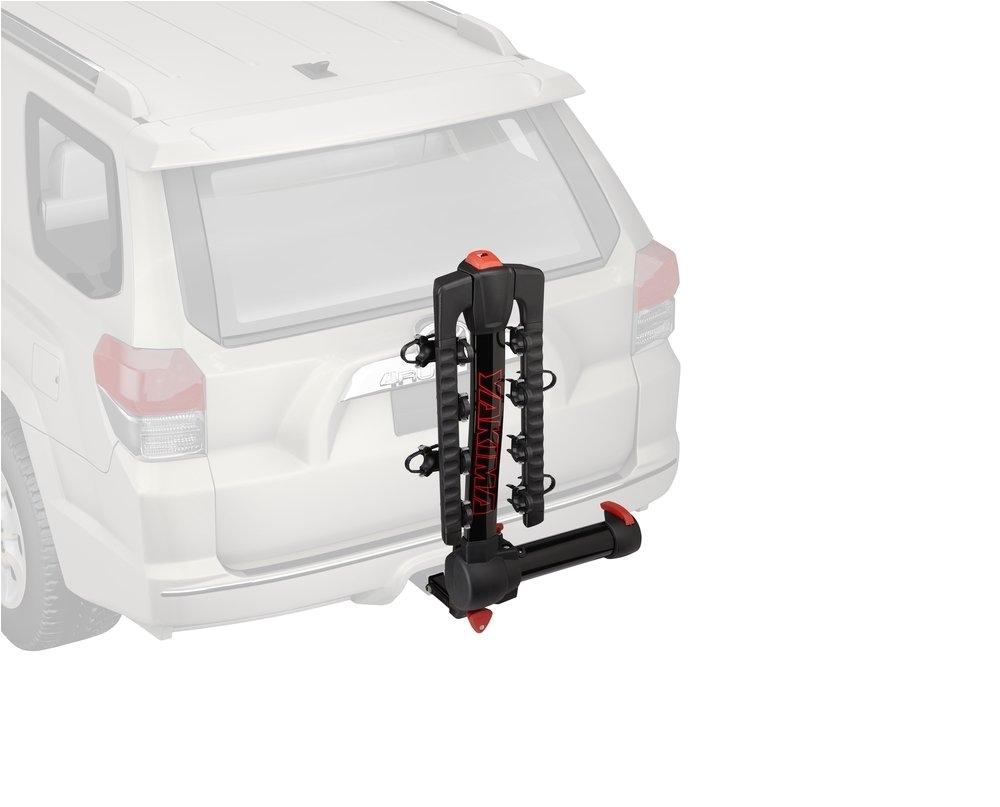 amazon com yakima fullswing premium locking bike hitch rack automotive bike racks sports outdoors