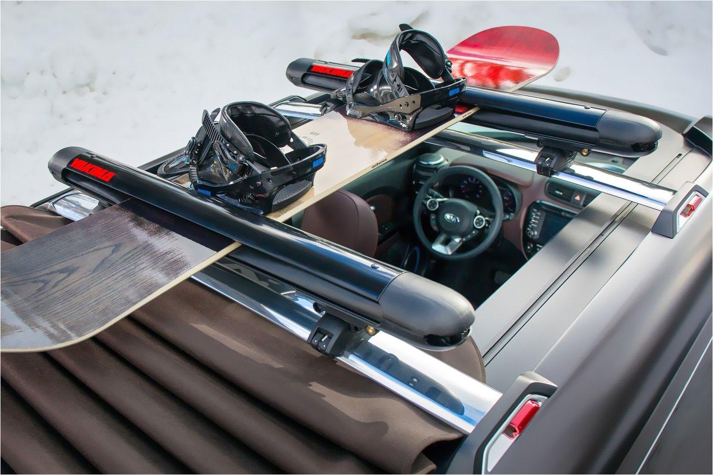 yakima black roof ski snowboard racks