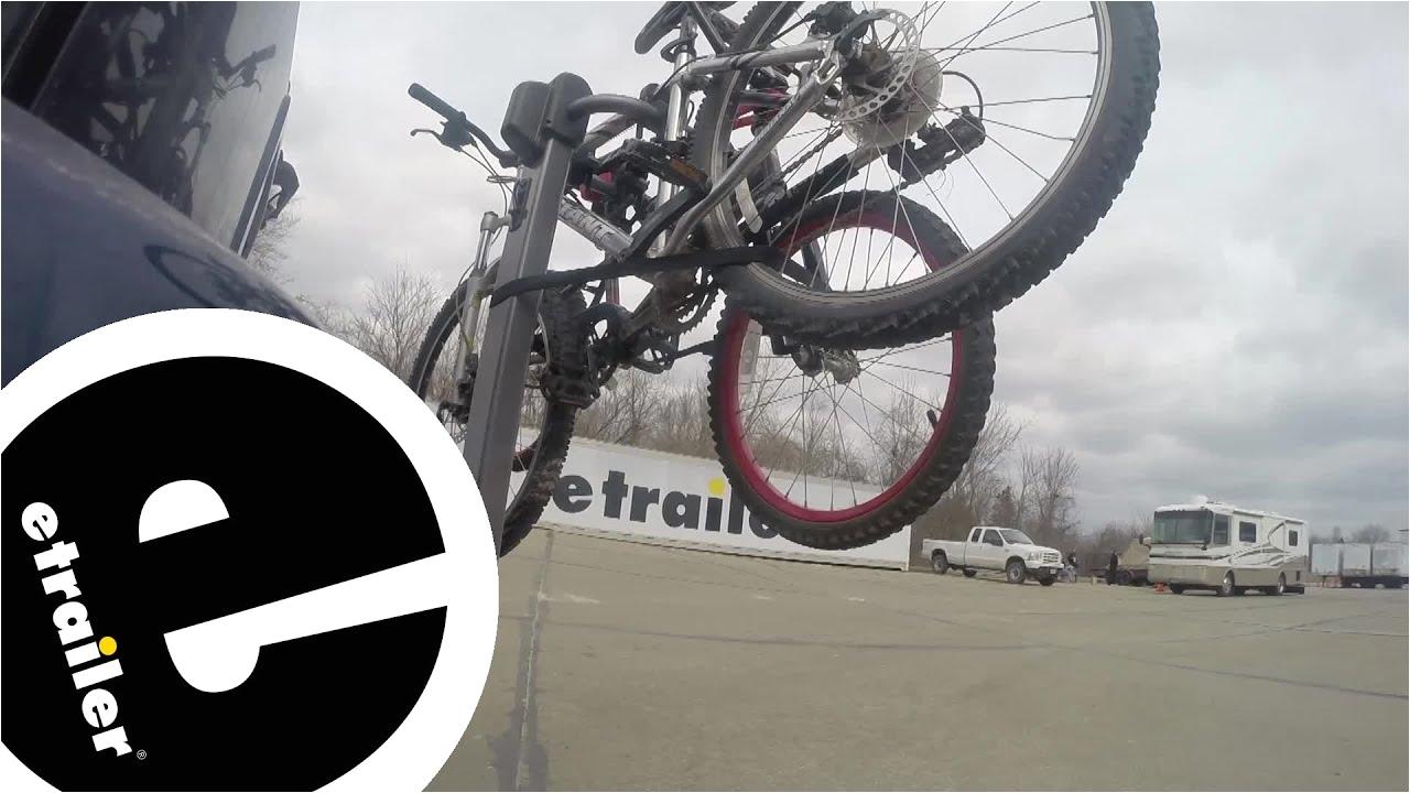 review yakima lite rider 2 bike hitch mounted rack y02472 etrailer c