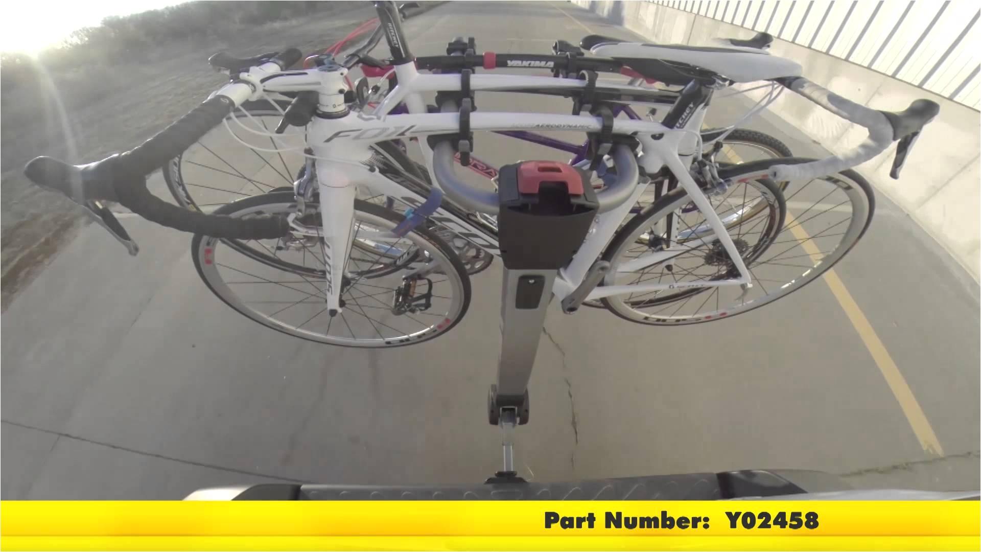 review of the yakima ridgeback 4 bike rack on a 2014 toyota sienna etrailer com