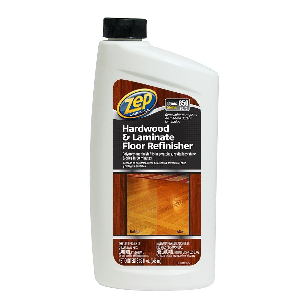 zep 32 oz hardwood and laminate floor refinisher