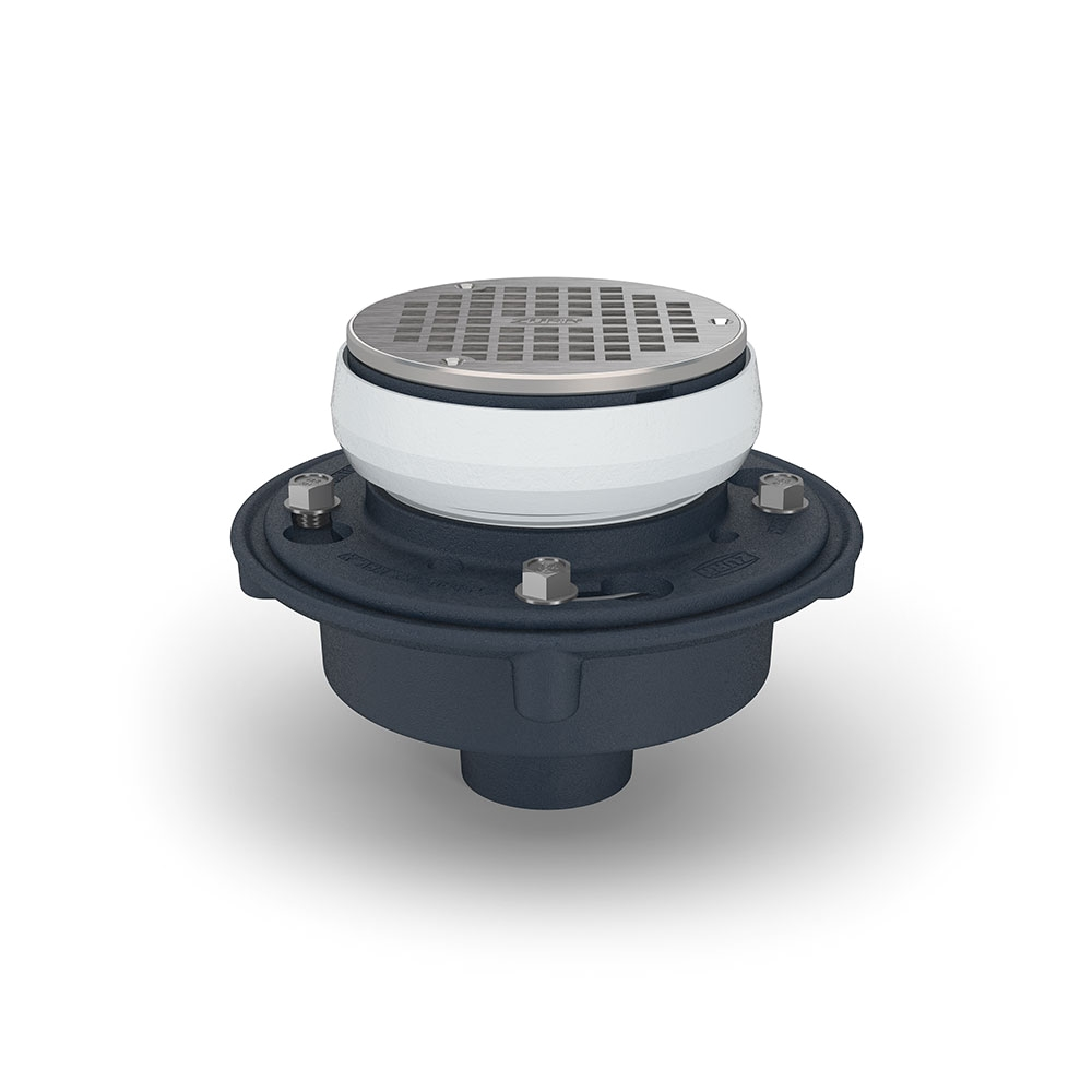 zurn ez1 adjustable floor drain