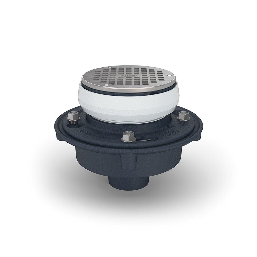 zurn ez1 adjustable floor drain