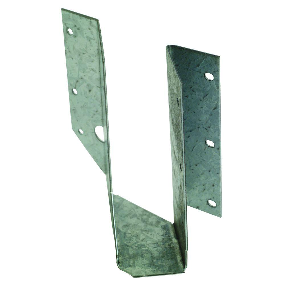 Angled Floor Joist Hangers Simpson Strong Tie Zmax Galvanized 2 In X 6 In Skewed Right Joist