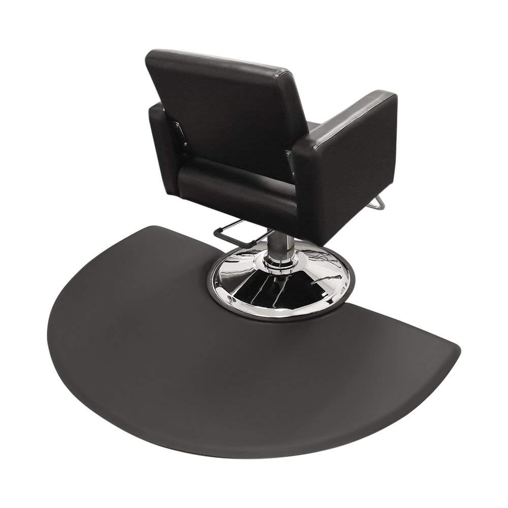 Barber Floor Mats Amazoncom Hair Salon Chair Floor Mats 3 X 5 Semicircle Round