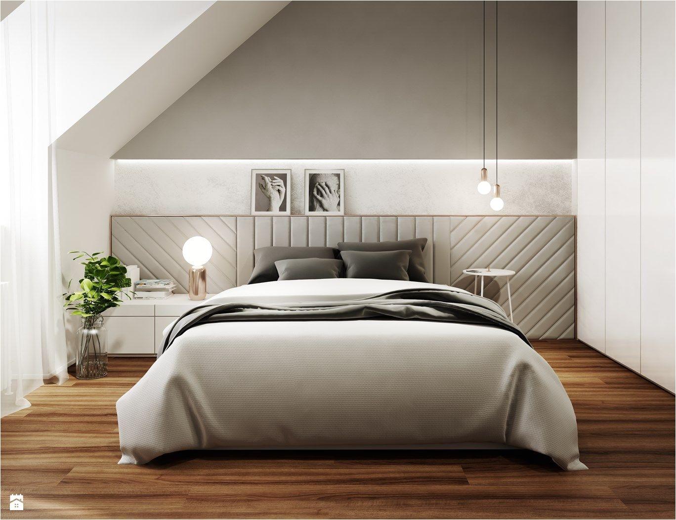 Bed Frames that Go On the Floor Sypialnia Styl nowoczesny Zdja Cie Od Mezzo Studio Sypialnia