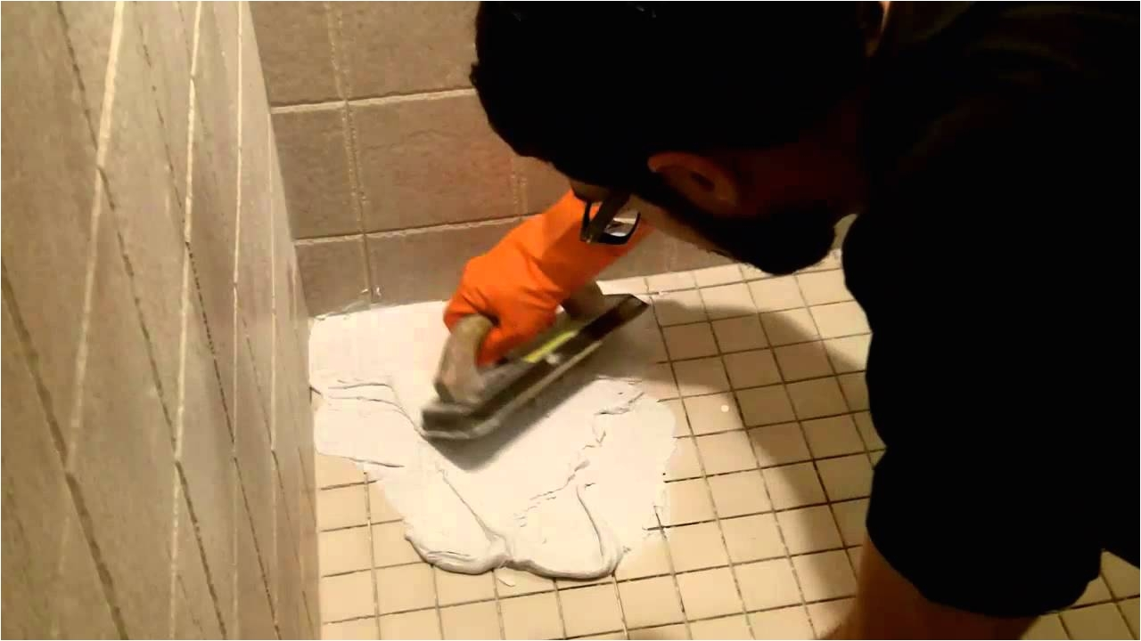 Best Epoxy Grout for Shower Floor How to Use Shower Epoxy Grout by Home Repair Tutor Youtube