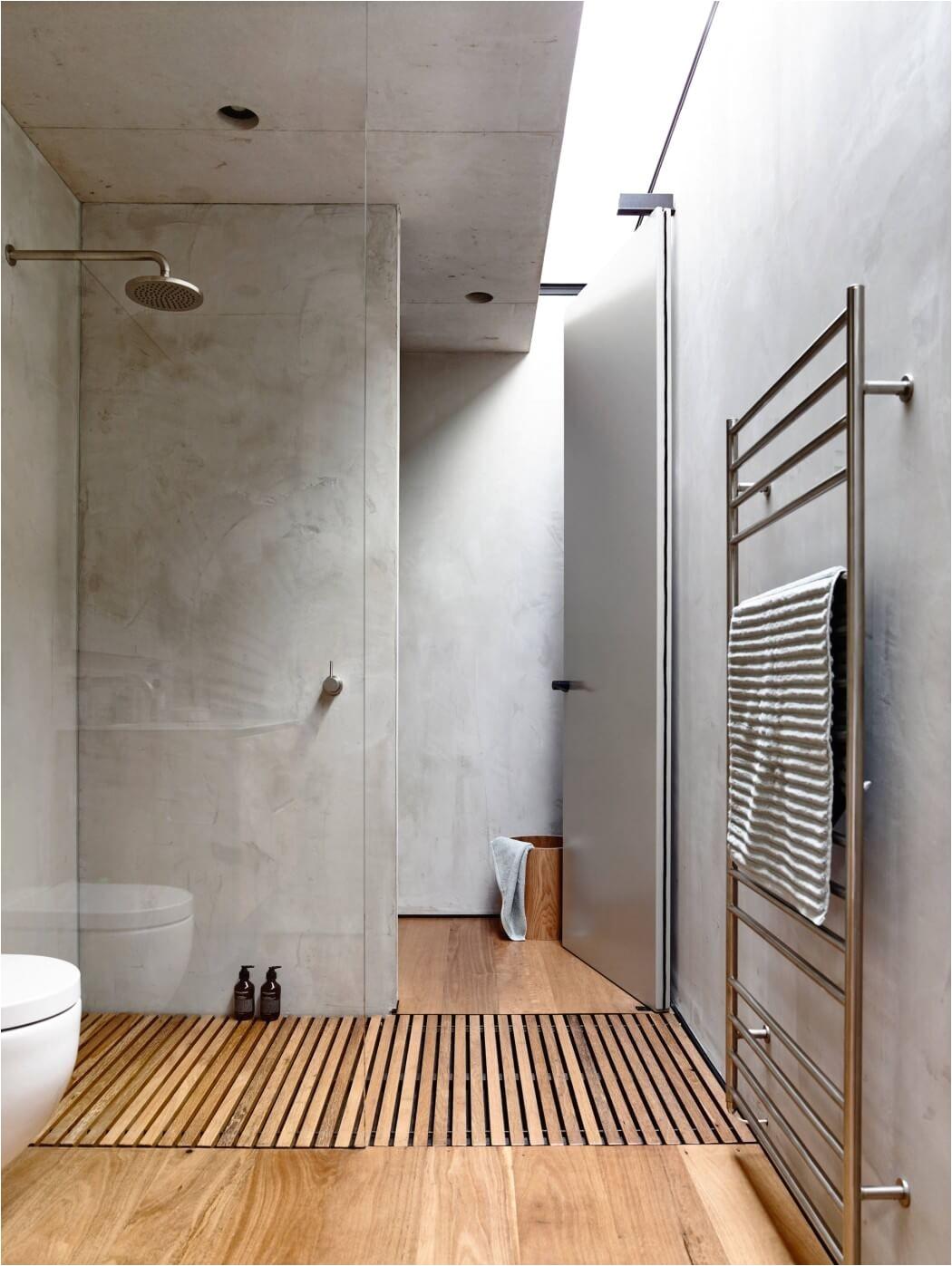 Best Flooring for Concrete Slab Bathroom Beach Ave by Schulberg Demkiw Architects On Homies Pinterest