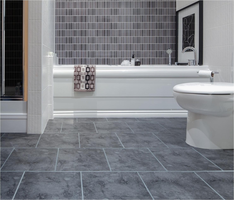 Best Flooring for Concrete Slab Bathroom Gorgeous Small Bathroom ...