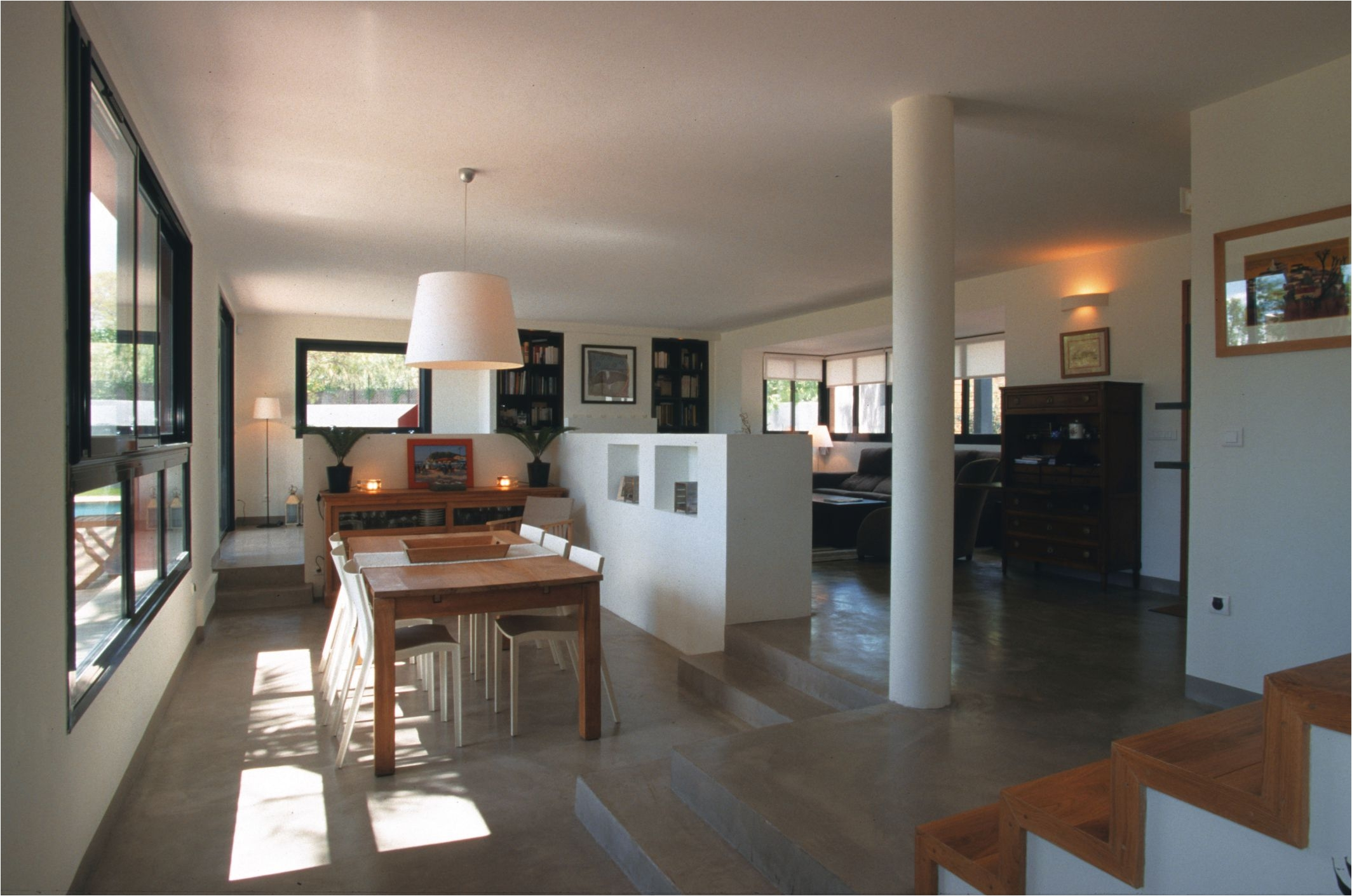 Best Flooring for Concrete Slab Homes Concrete Living Room Flooring Information