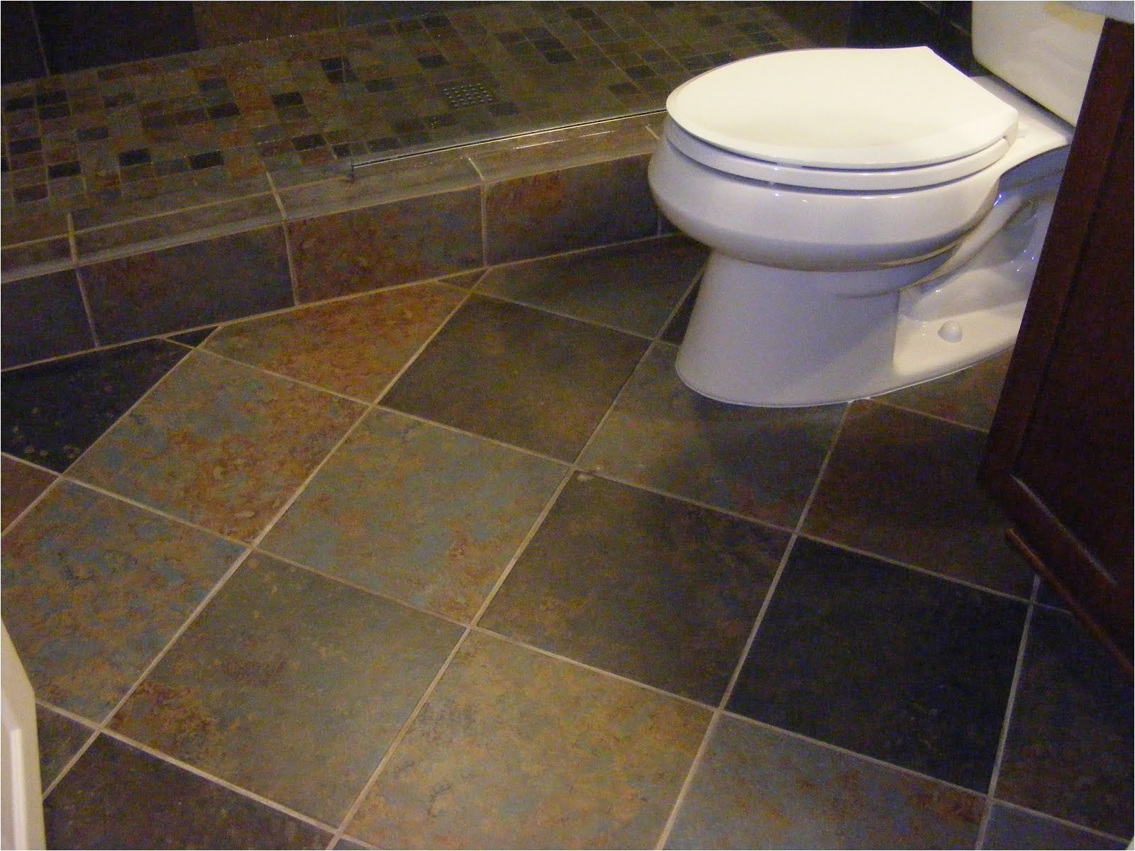 Best Grout Color for Shower Floor Cute Small Bathroom Flooring Ideas 3 Amazing Floors for Bathrooms