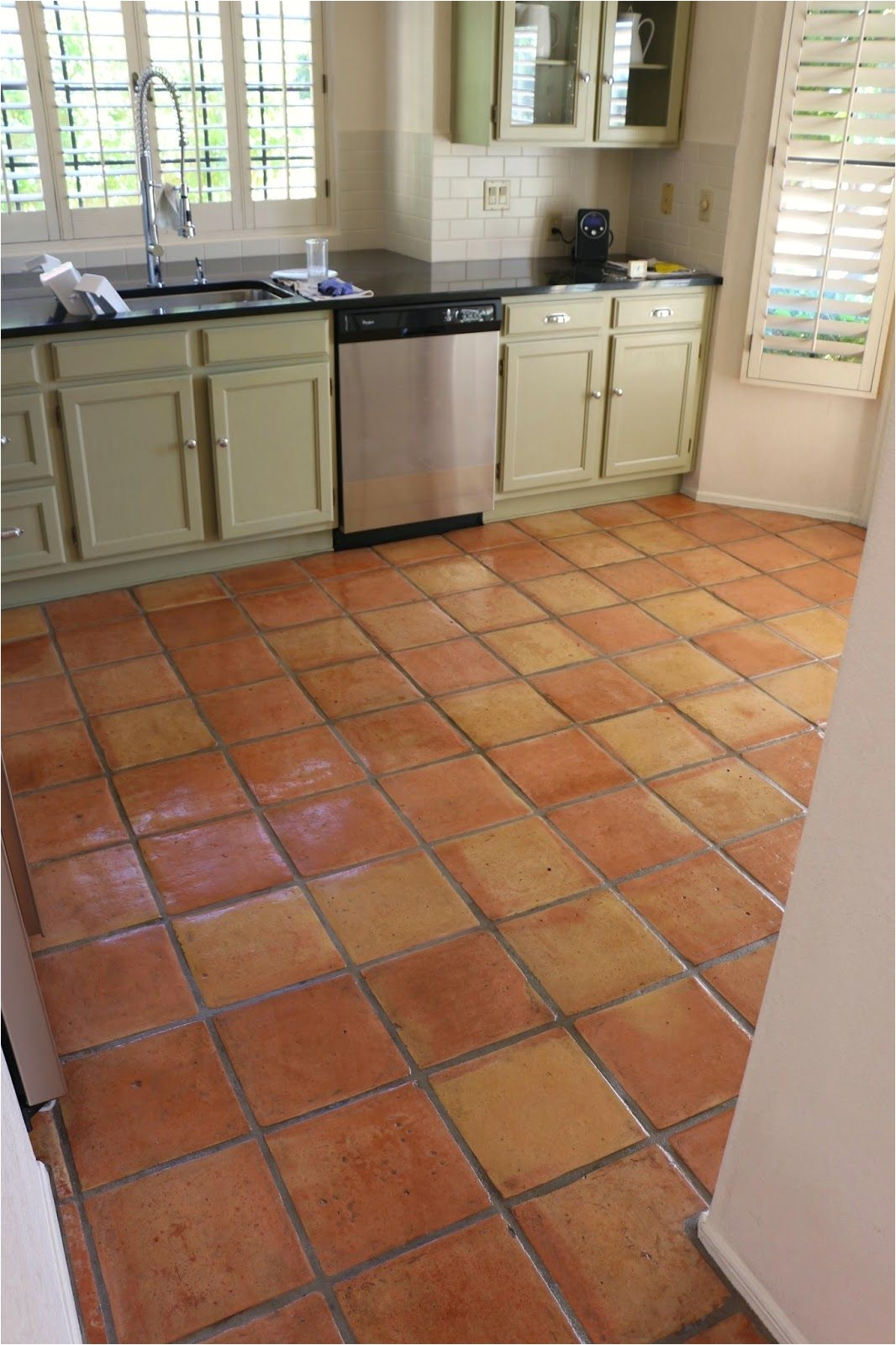 Best Polish For Tile Floors Dusty Coyote Stripping And Sealing A