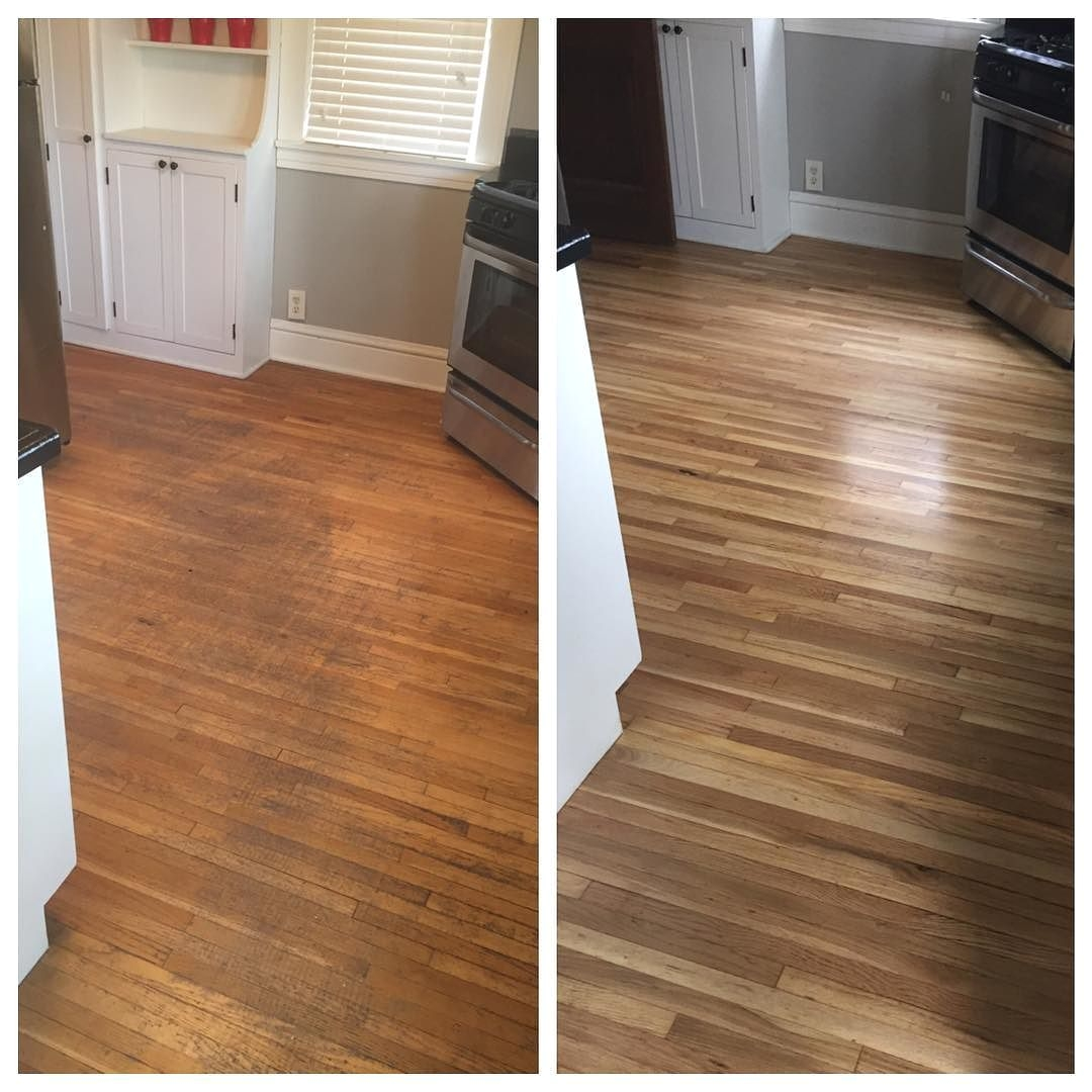 Best Product to Renew Hardwood Floors before and after Floor Refinishing Looks Amazing Floor