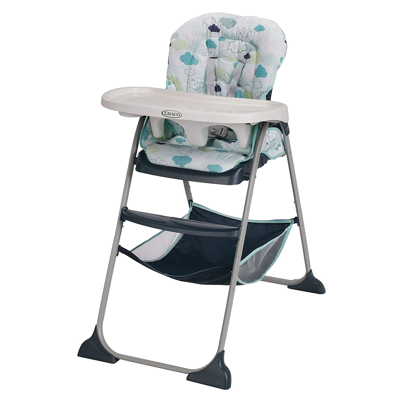 Best Space Saving High Chair 2016 Amazon Com Graco Slim Snacker Stratus Baby