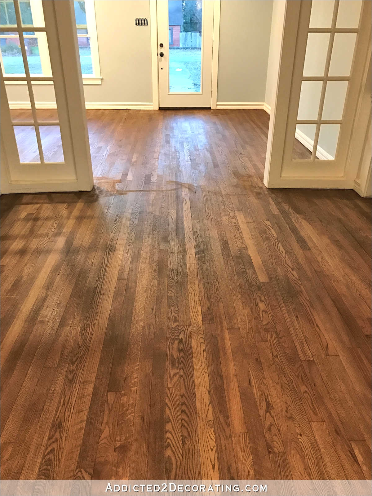 Best Type Of Polyurethane for Hardwood Floors Adventures In Staining My Red Oak Hardwood Floors Products Process