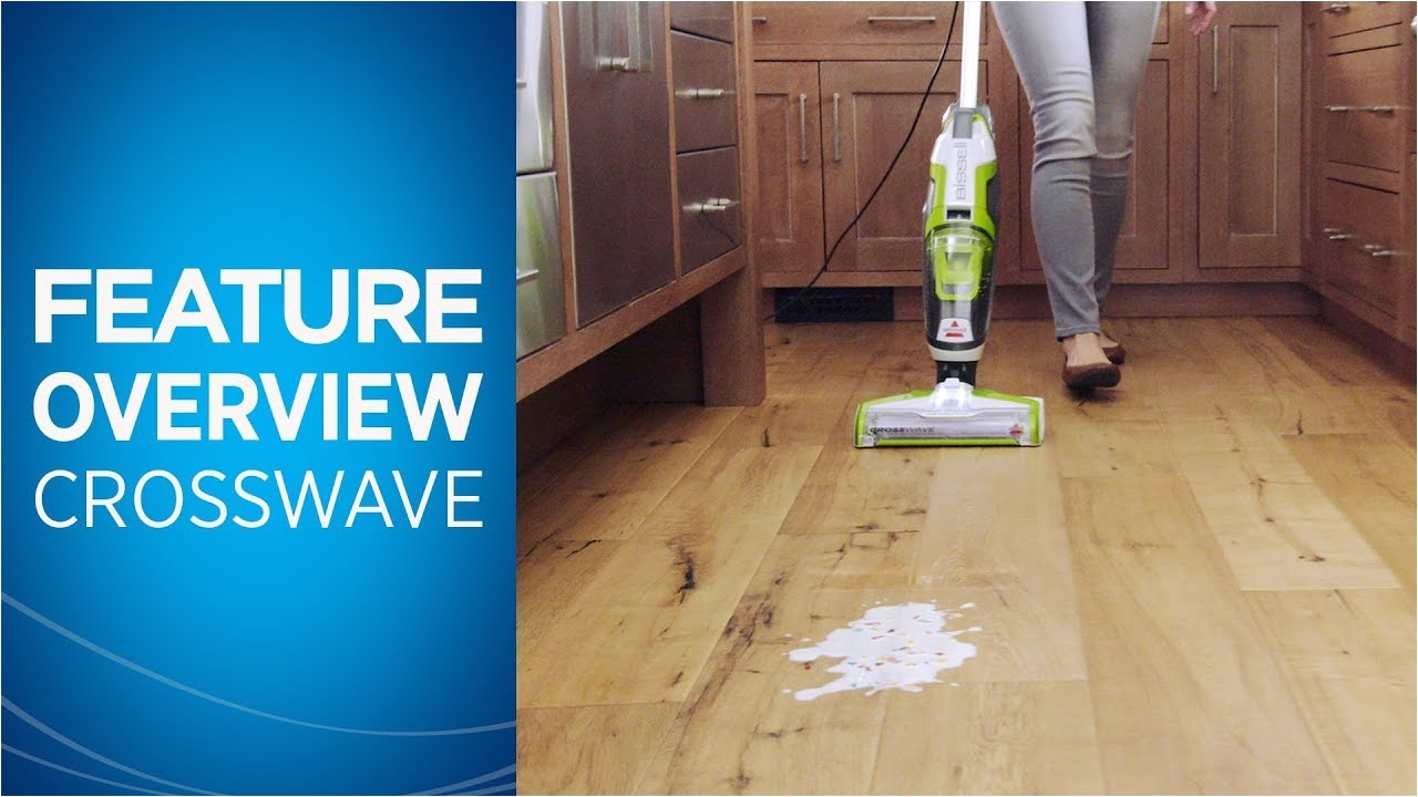 Bissell Floor Finishing Machine 31k8 How to Use Crosswavea Youtube