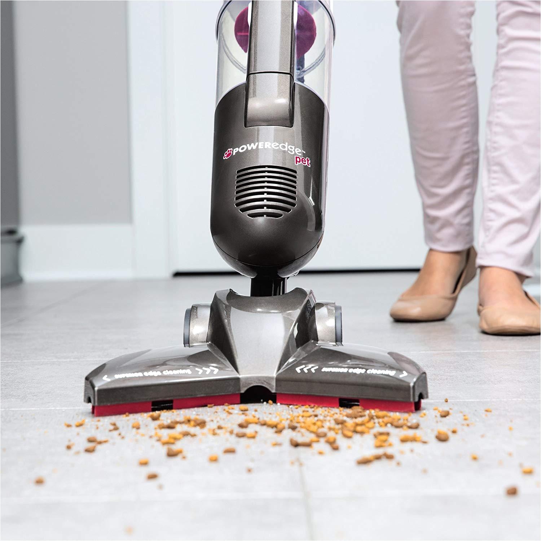 Bis Poweredge Pet Hard Floor Vacuum Com Hardwood Bagless Stick