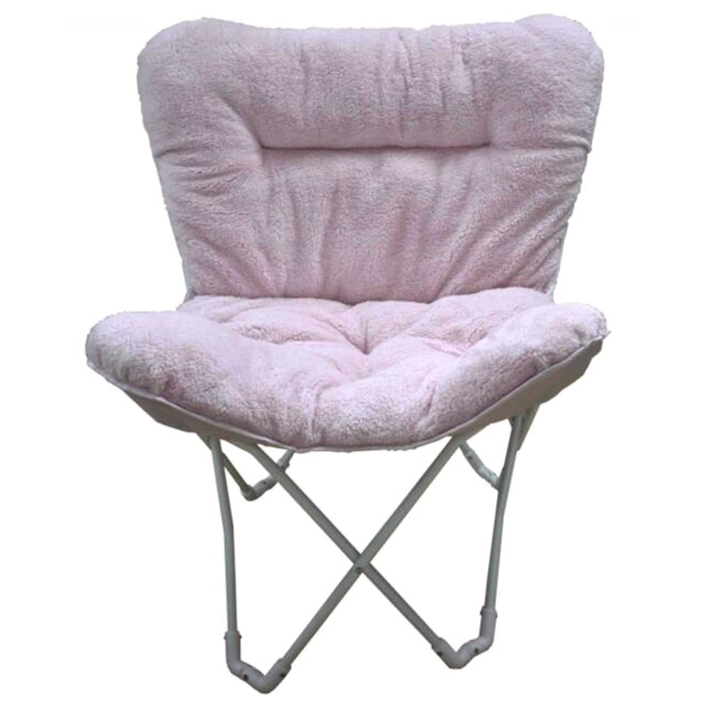 Butterfly Lounge Chair Target Folding Plush butterfly Chair In Blush Pink Stylish Relaxing