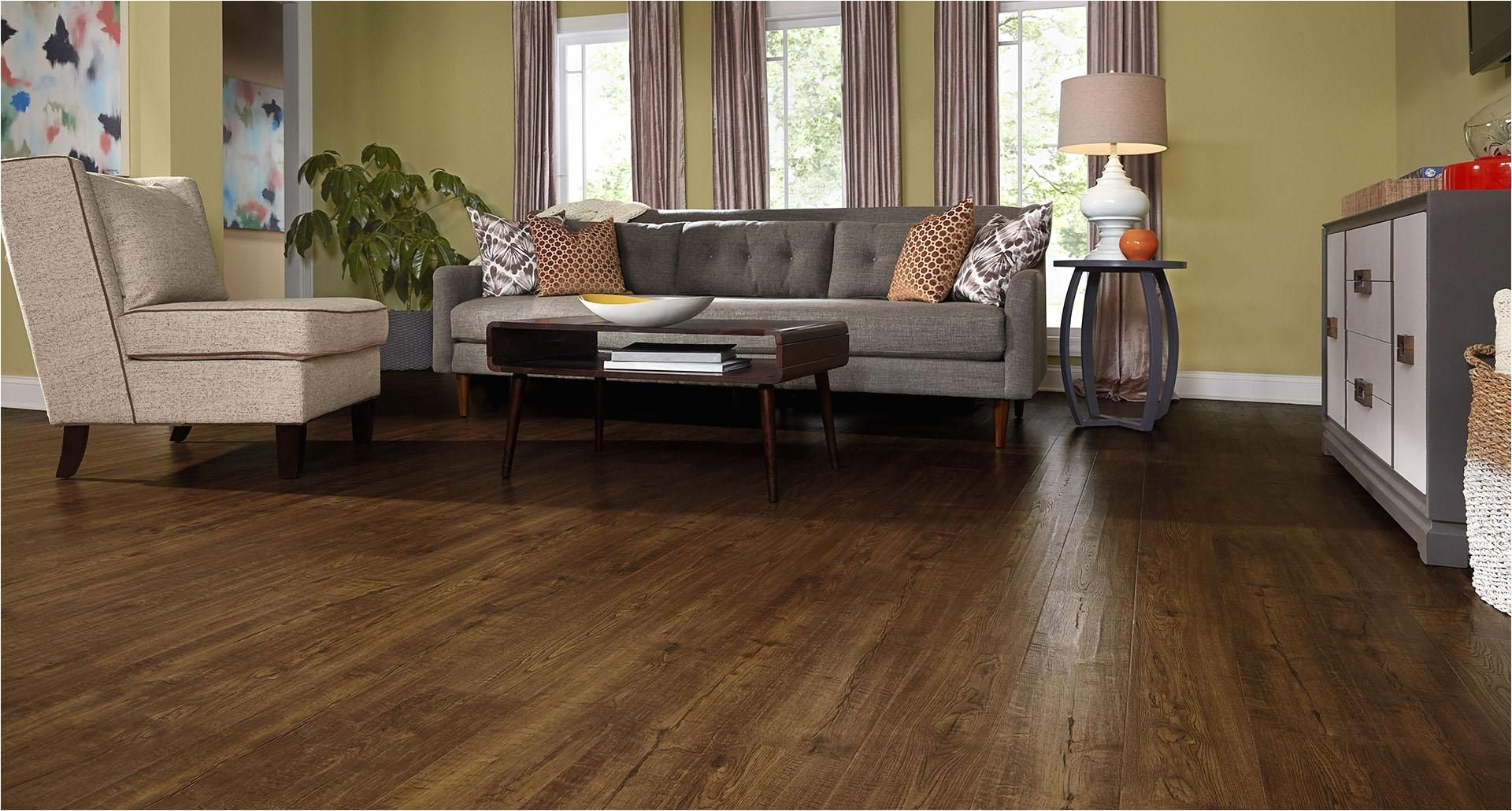 Consumer Reports Best Buy Laminate Flooring Mohawk Pergo Auburn Scraped Oak 6 Hand Scraped Laminate Flooring