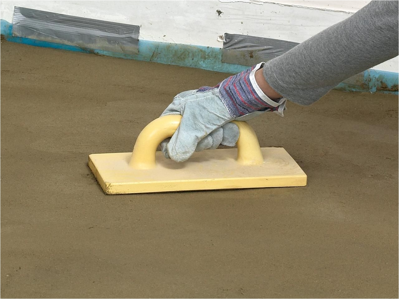 Diy Heated Garage Floor How to Pour A Concrete Floor Concrete Floor Concrete and Dorm