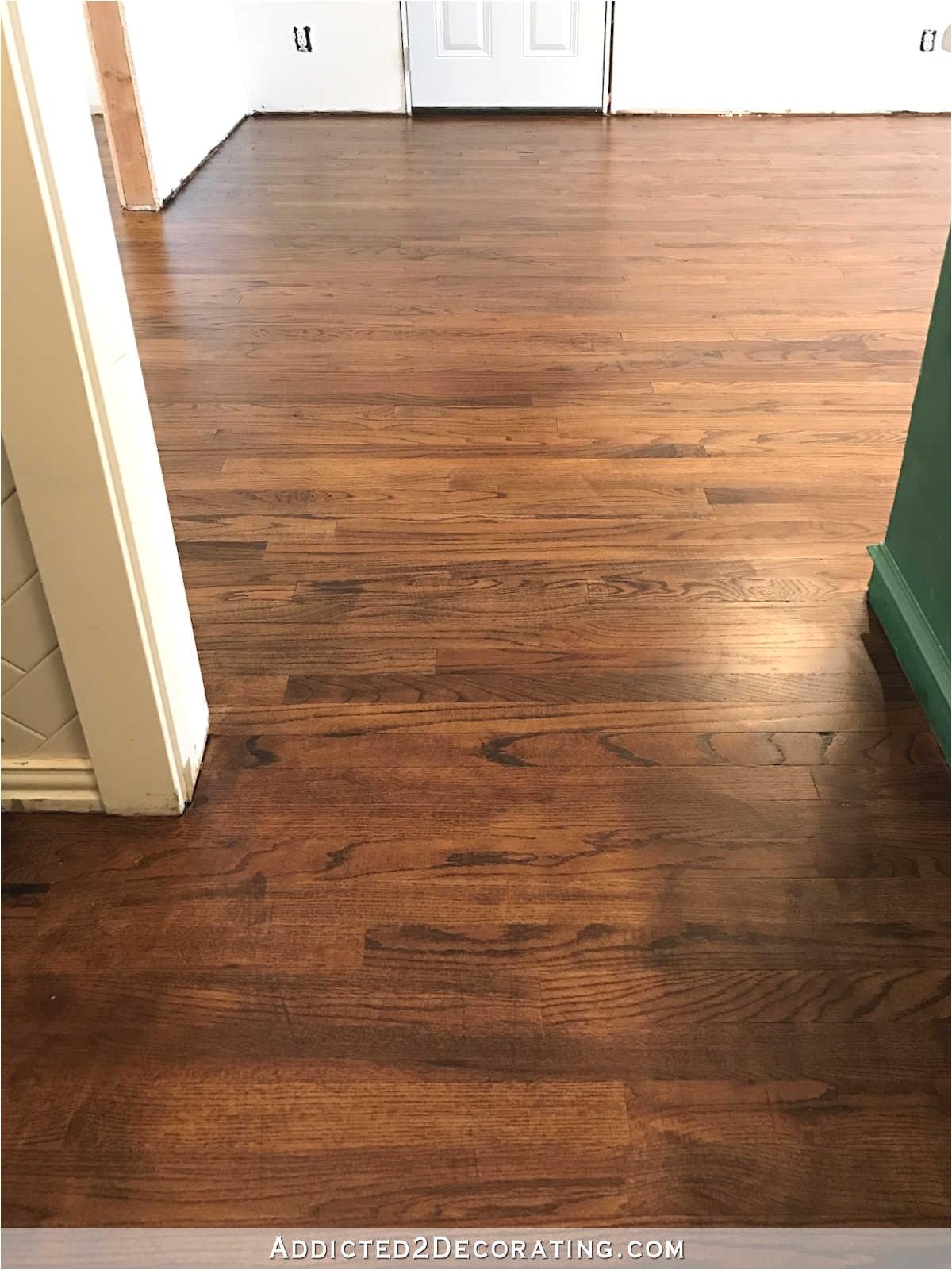 Dog Pee On Wood Floor Gorgeous My Newly Refinished Red Oak Hardwood Floors Refinishing
