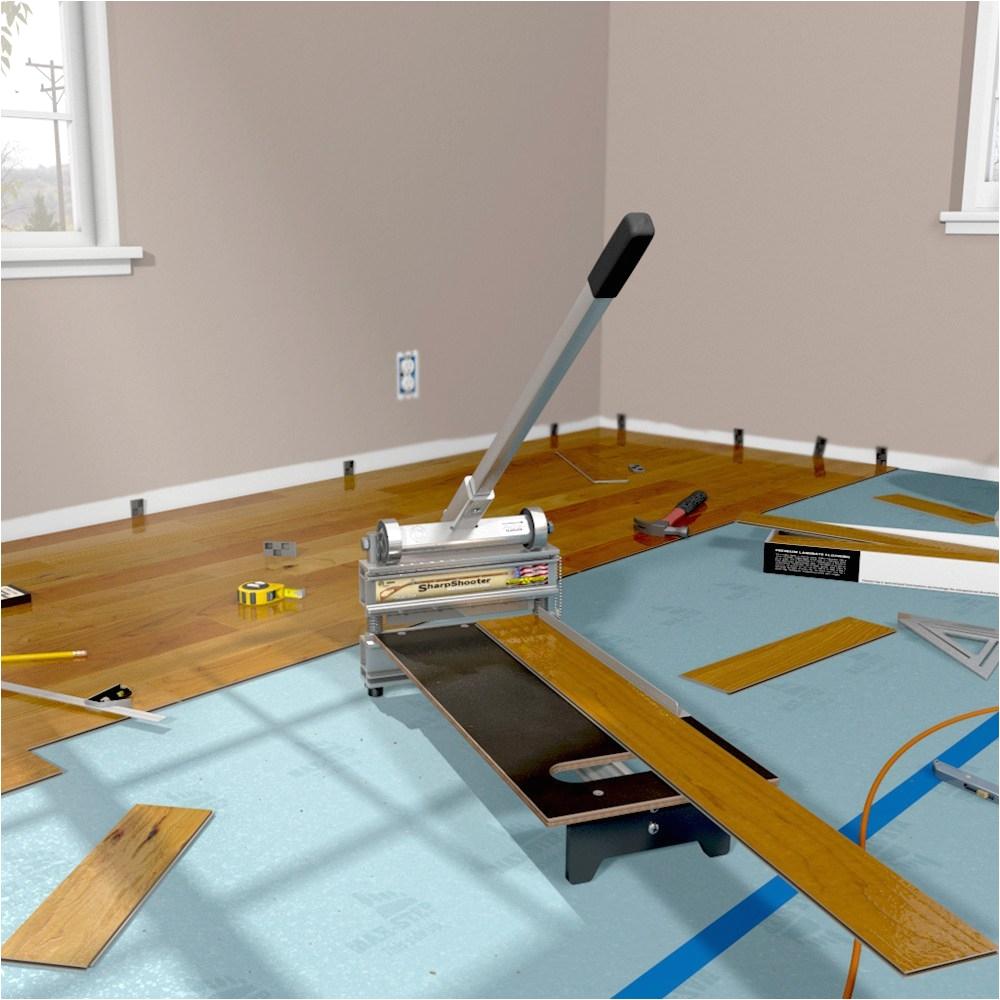 Ez Shear Laminate Flooring Cutter Cut Flooring Up to 9 Wide Sharpshooter 009 Ez Shear Flooring Cutter