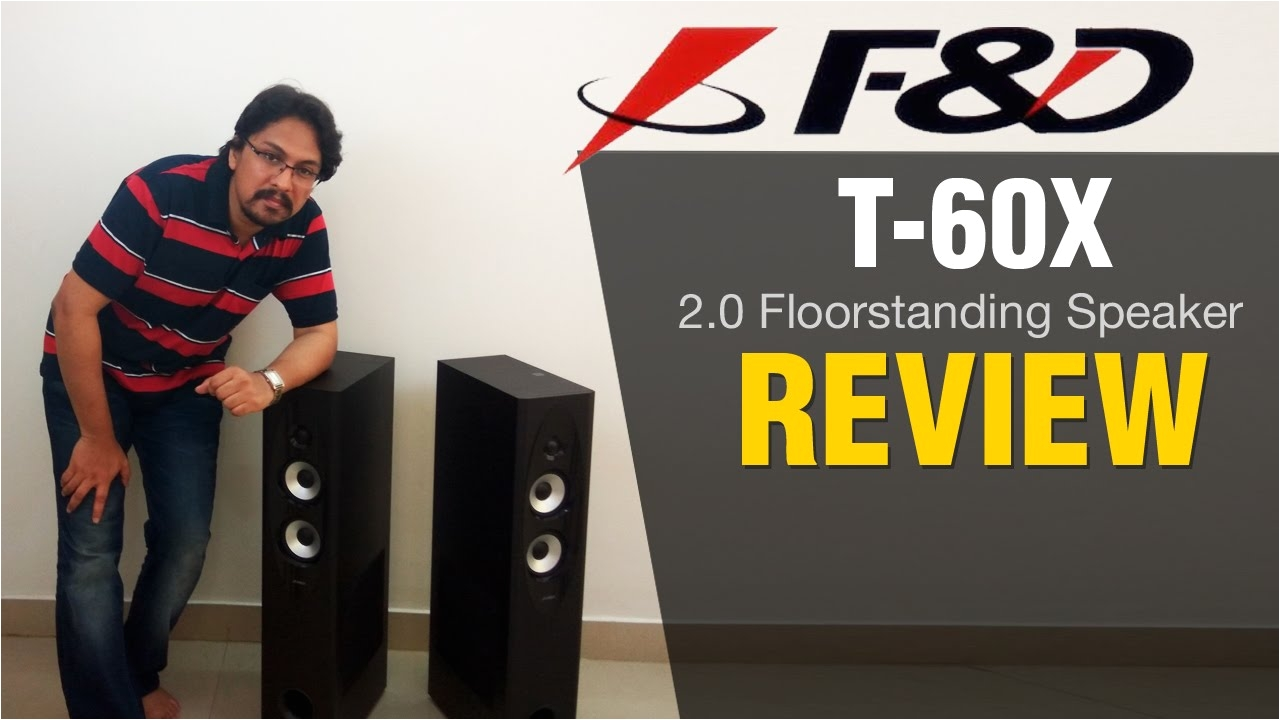 F D T-30x 2.0 Floor Standing Bluetooth Speakers F D T60x Fenda Speaker Review Youtube