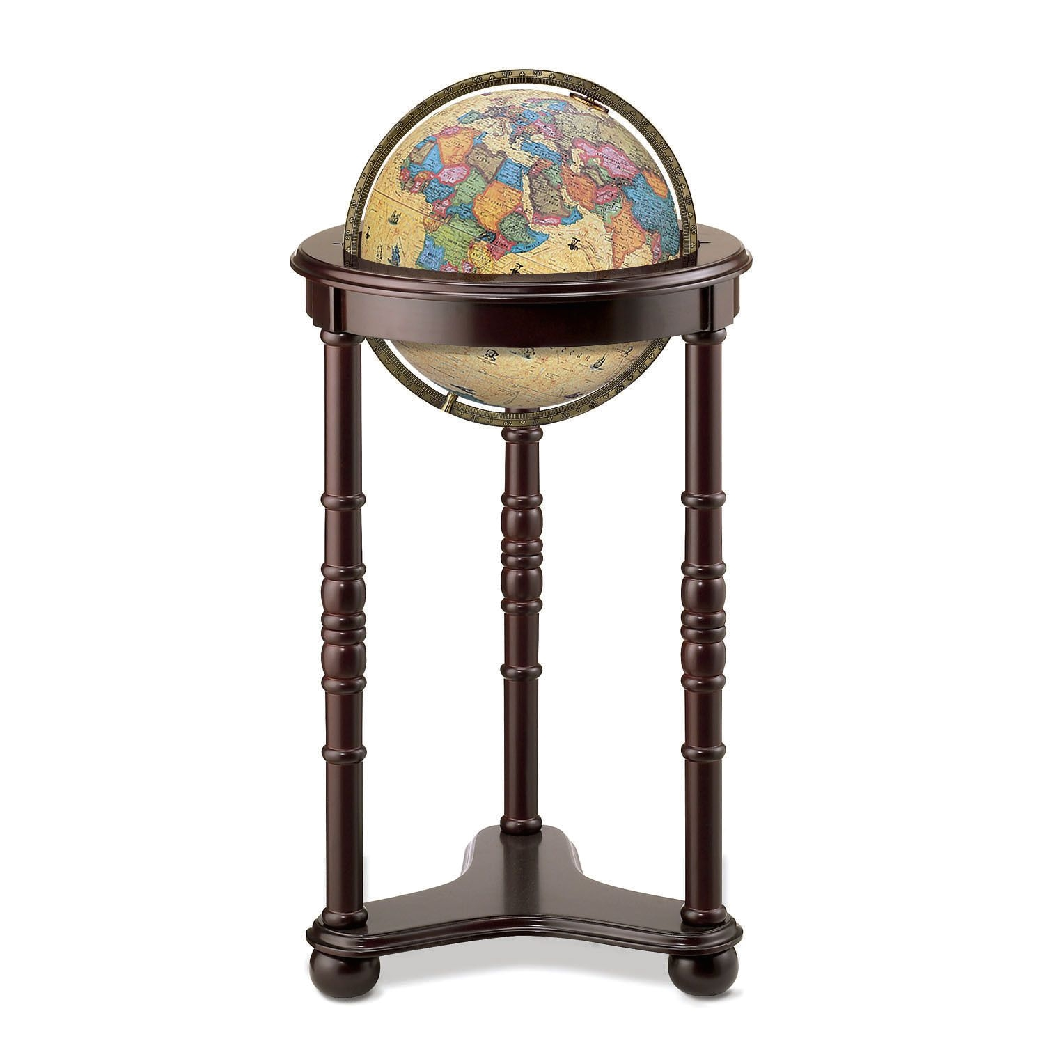 Floor Globe with Stand the Illuminated Lancaster Floor World Globe Showcases A Classic