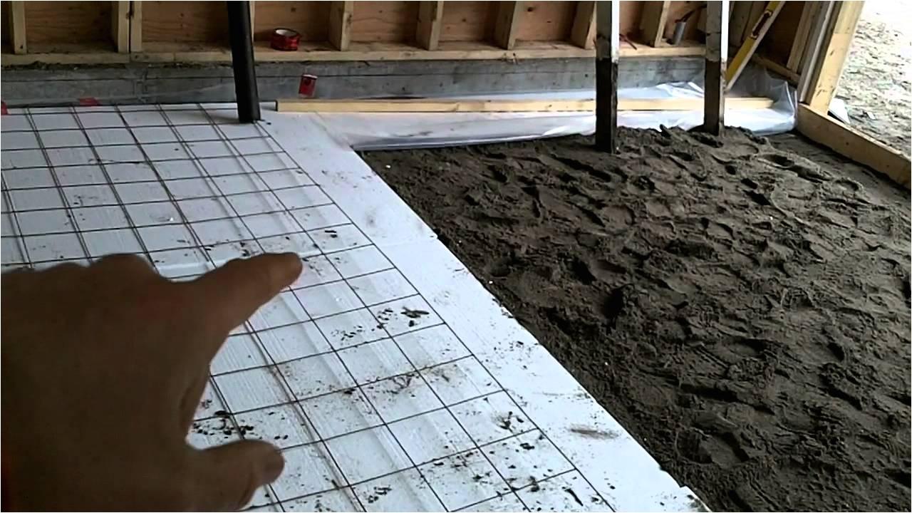 Floor Leveling Contractor Garage Build Part 13 Preparing The Floor
