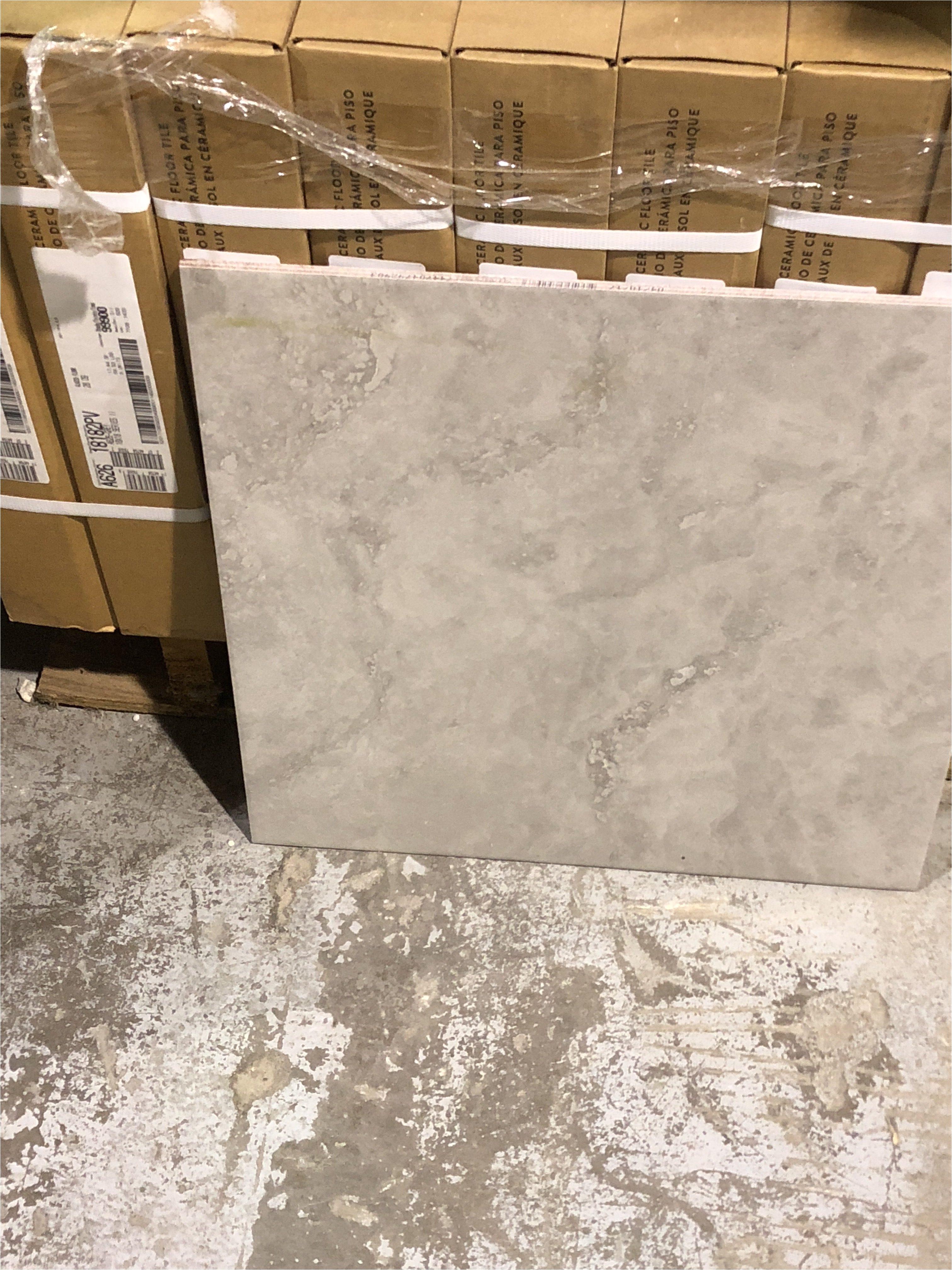 Floor Wax For Tile Floors 18 X 18 Ceramic Tile A6261818 Builder Bob