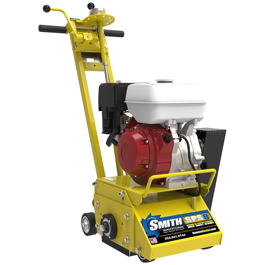 Gas Powered Floor Scraper Smith Manufacturing Sps8a original Rugged Walk Behind Scarifier