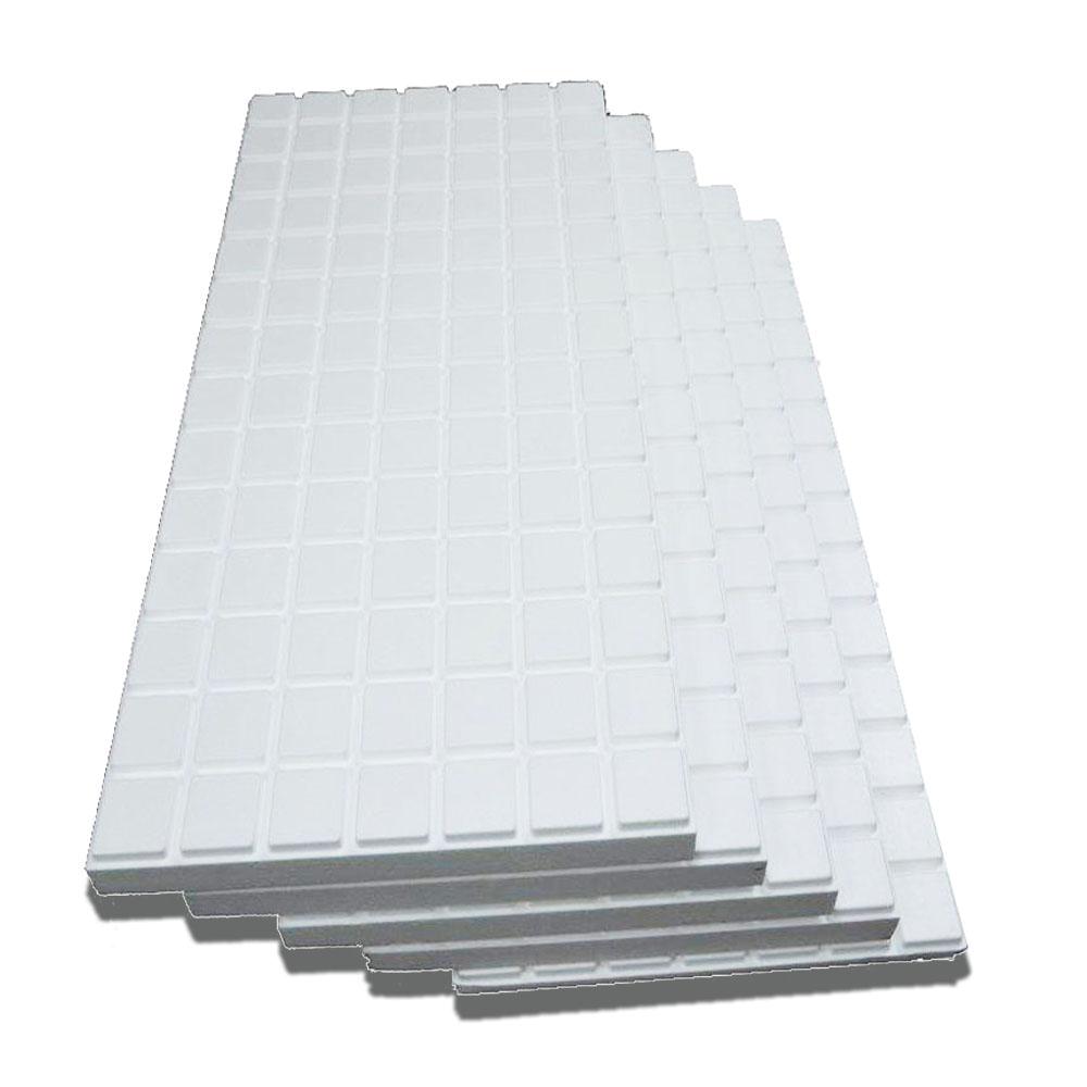 Home Depot attic Flooring System Amvic Multipurpose High Density Insulation Kit R10 2 3 8 In X 24 In