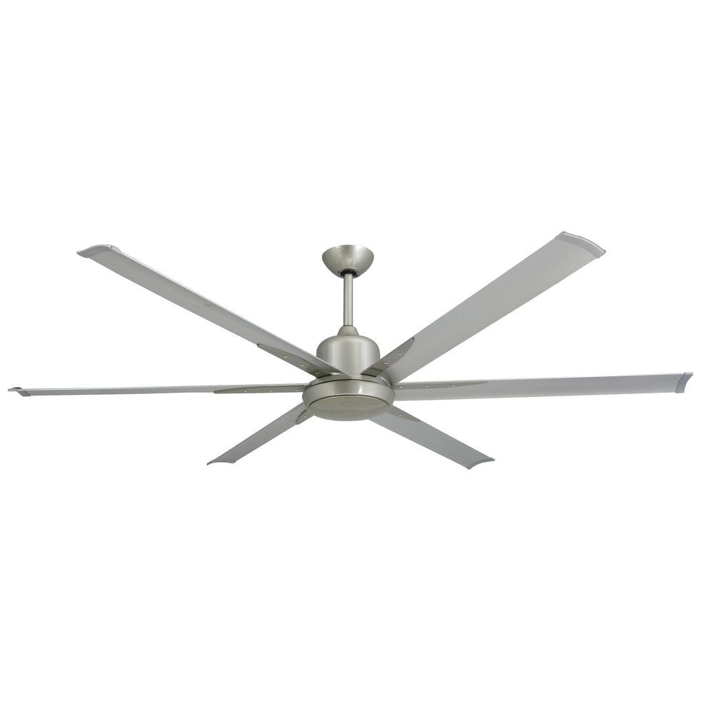 Home Depot Floor Fans Troposair Titan 72 In Indoor Outdoor Brushed Nickel Ceiling Fan and