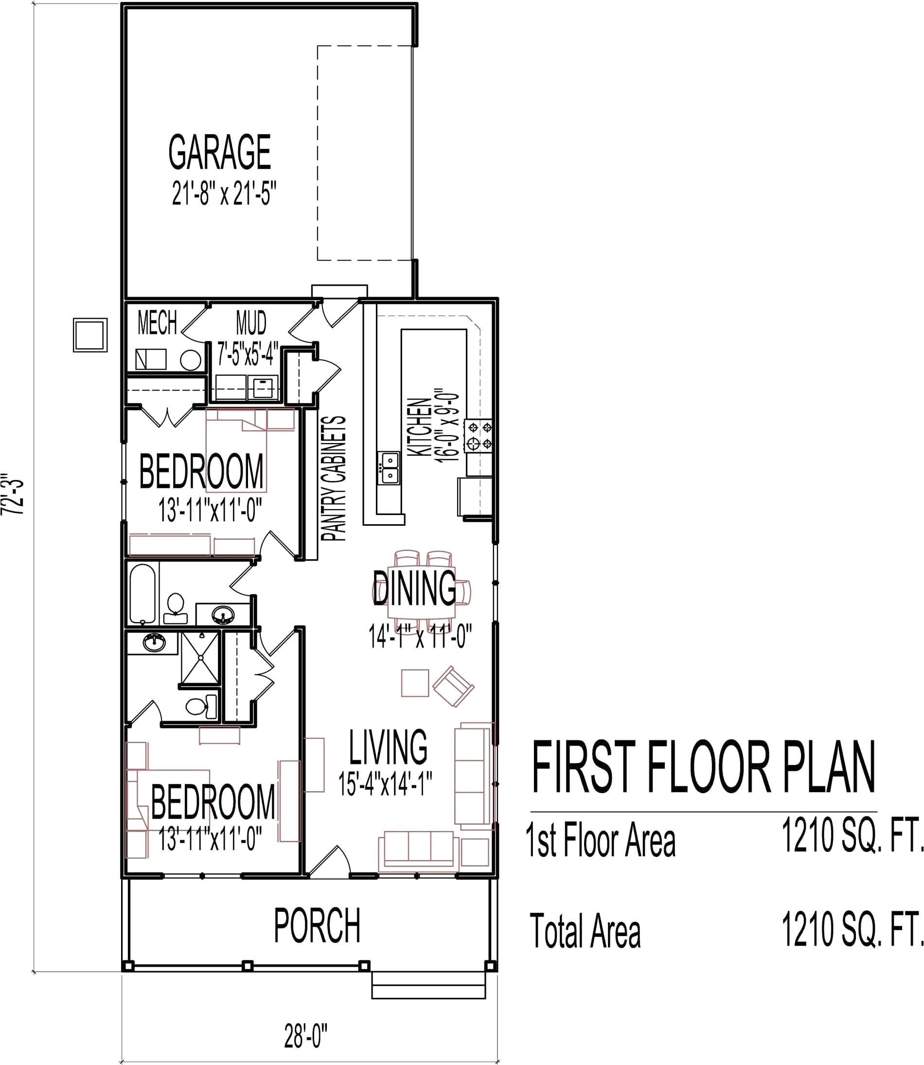 House Floor Jacks for Sale Home Plans for Sale Encantador House Floor Plans with Basement