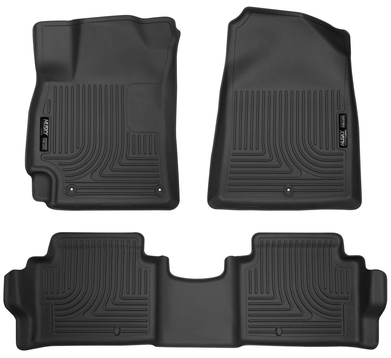 Husky Laser Cut Floor Mats Amazon Com Husky Liners Front 2nd Seat Floor Liners Fits 17 18