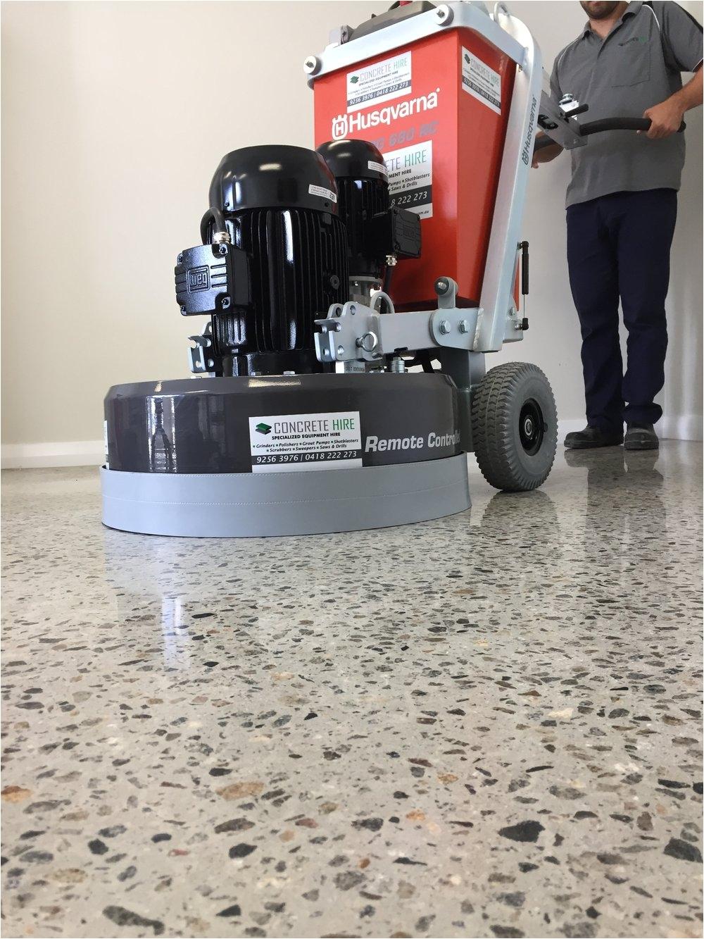 Husqvarna Floor Grinder Hire Captivating Concrete Grinder Polisher 25 Spta 110v Professional 800w