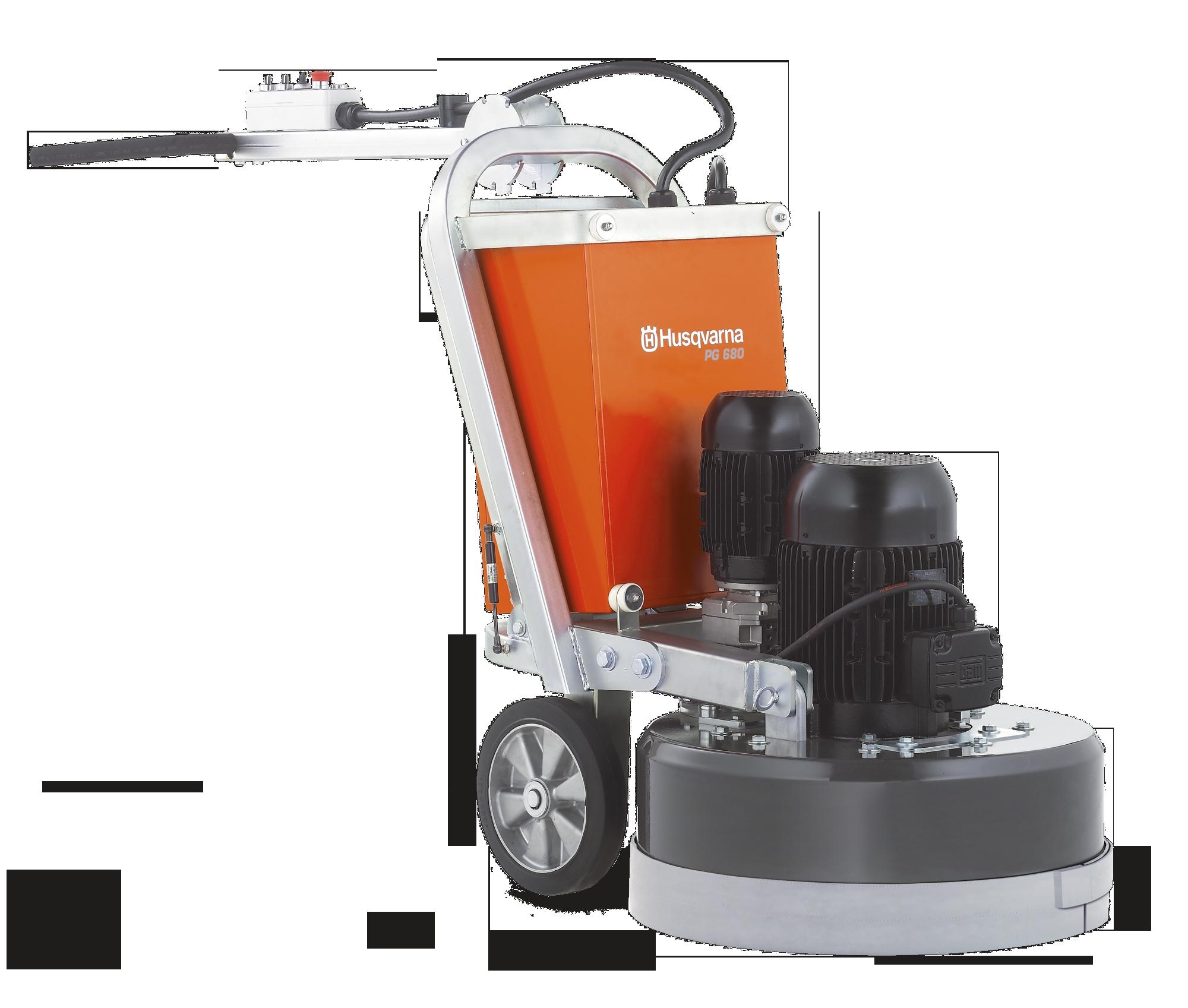 Husqvarna Floor Grinder Pg 400 Husqvarna Floor Grinders Polishing Pg 680