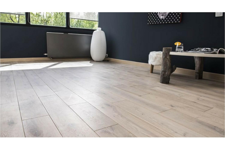 Industrial Flooring Canada Greywash 5 European White Oak solid Hardwood Easiklip