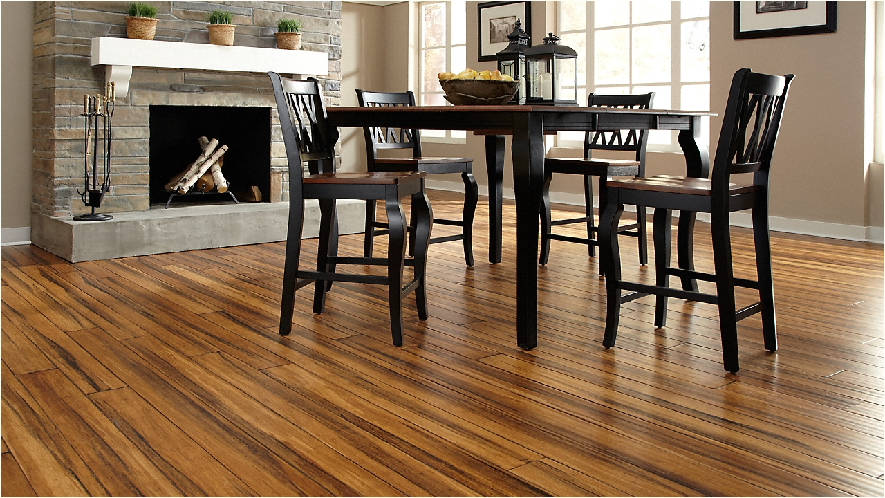Is Bamboo Flooring Waterproof 1 2 X 5 Antique Click Strand Distressed Bamboo Morning Star Xd