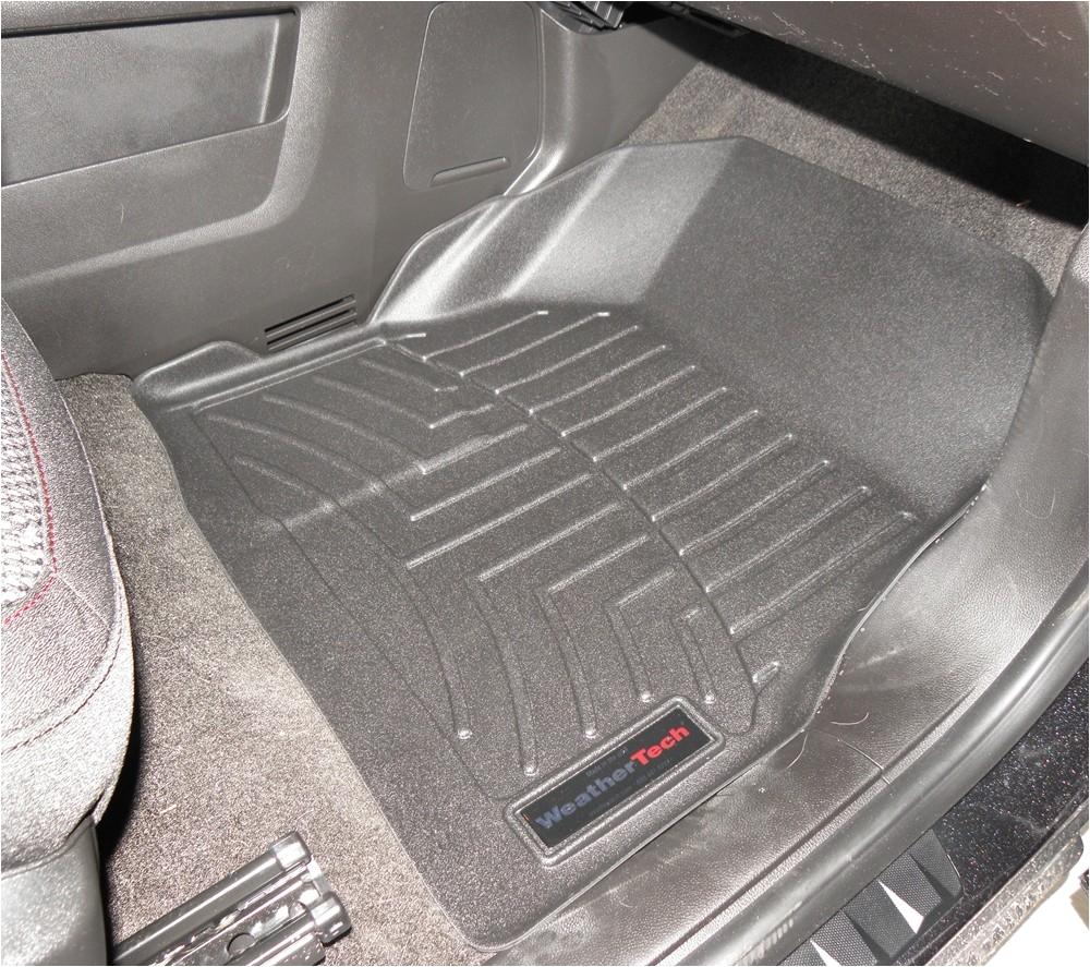 Laser Cut Floor Mats for Cars Compare Vs Weathertech Front Etrailer Com